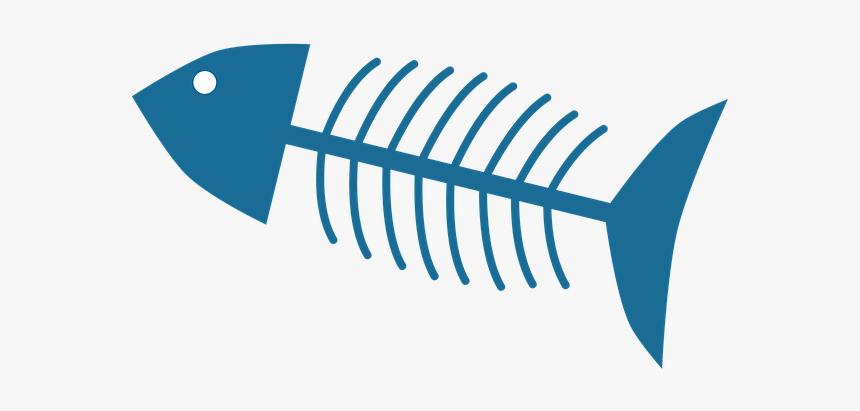 Fish Bones Png Download - Fish Bone Png, Transparent Png, Free Download