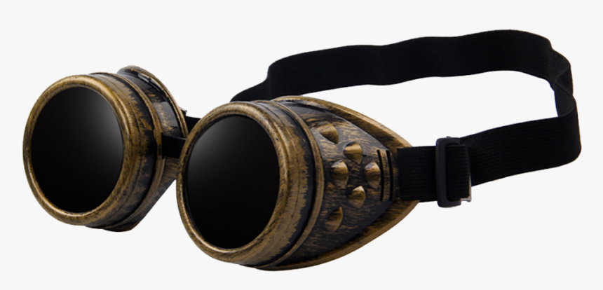 Welding Goggles Transparent Background Steam Punk Goggles Transparent Hd Png Download Kindpng