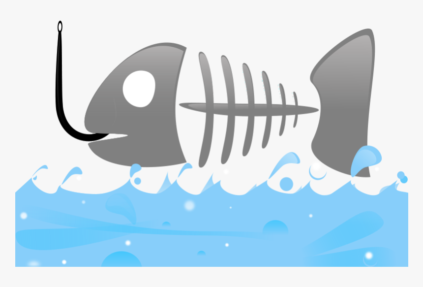 Transparent Fish Skeleton Png - Background Fish Powerpoint, Png Download, Free Download