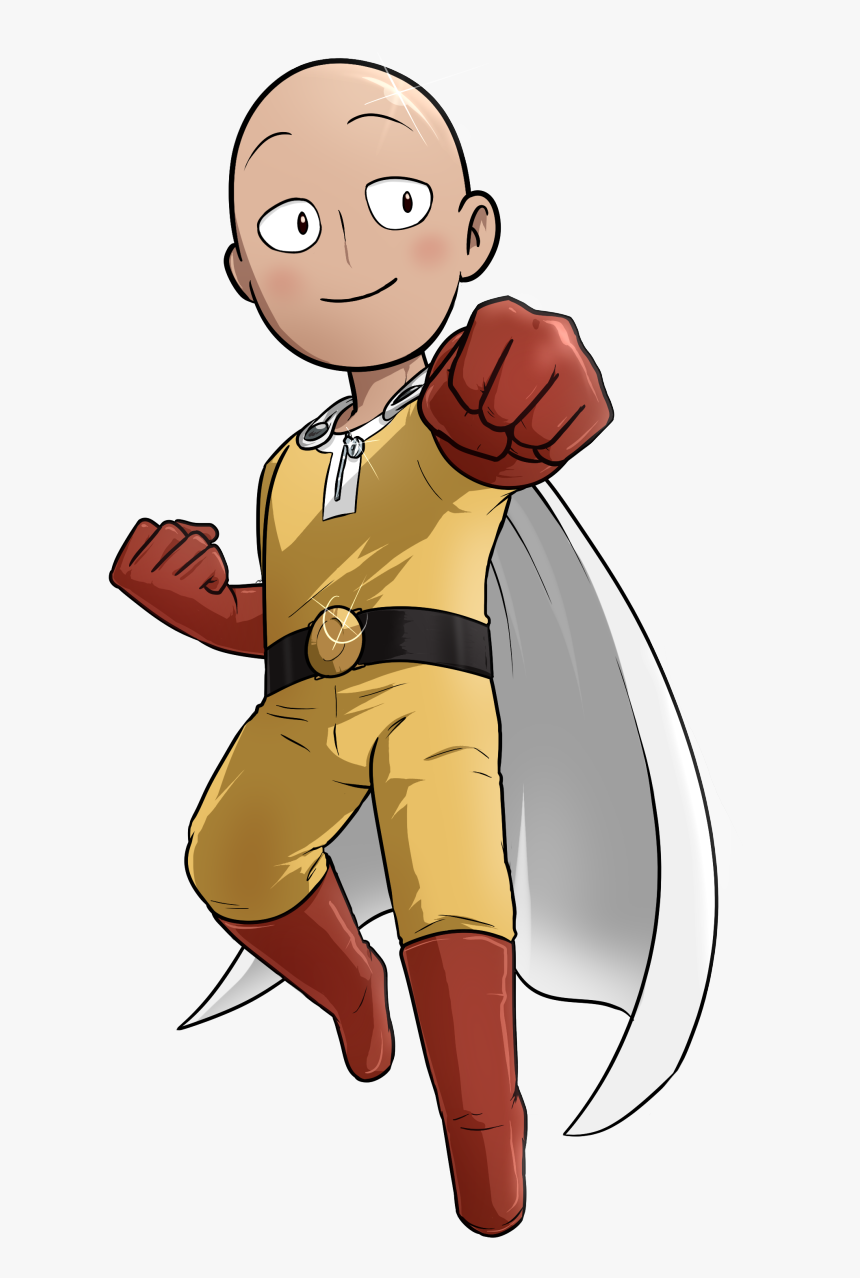 This Png File Is About Kids , Free Cartoons , Drawings - One Punch Man Png, Transparent Png, Free Download