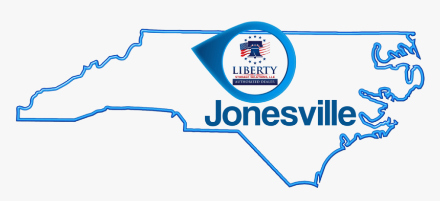 Jonesville-map - North Carolina Outline Free, HD Png Download, Free Download
