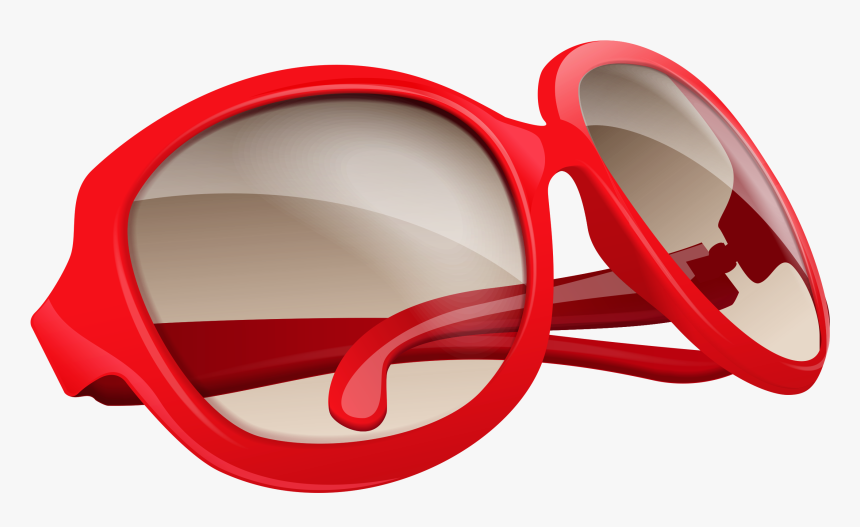 Red Glasses Png - Sun Glasses Png Clipart, Transparent Png, Free Download