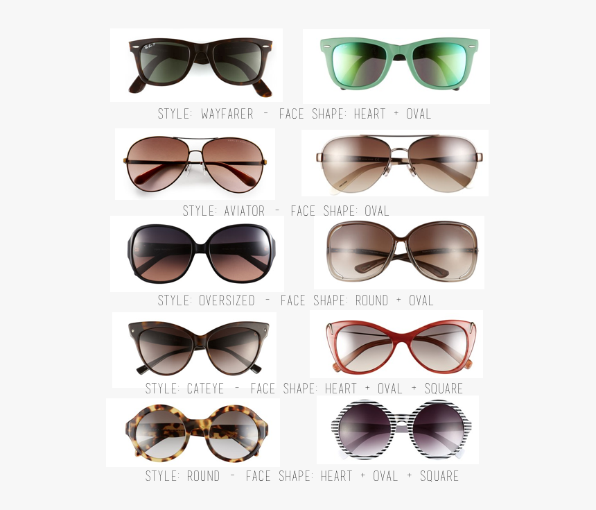 Sunglasses - Sunglasses Shape Ray Ban, HD Png Download, Free Download