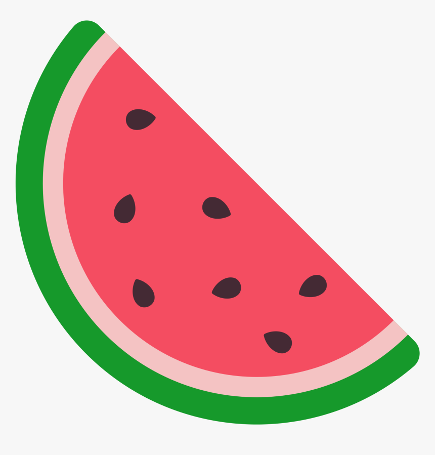 Transparent Background Watermelon Clipart, HD Png Download, Free Download