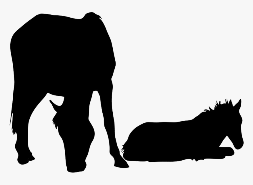 Horse Silhouette - High Hopes Stable Roblox, HD Png Download, Free Download