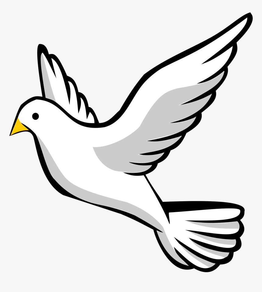 Dove Pictures Clip Art 19 Dove Svg Freeuse Huge Freebie - Holy Spirit Transparent Background Dove Clipart, HD Png Download, Free Download