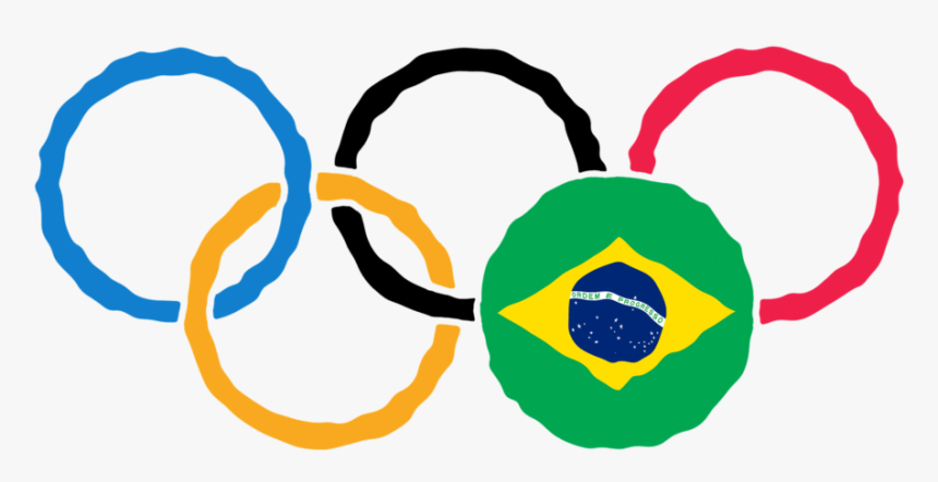 Mens Olympic Hair Styles - Olympic Rings, HD Png Download, Free Download