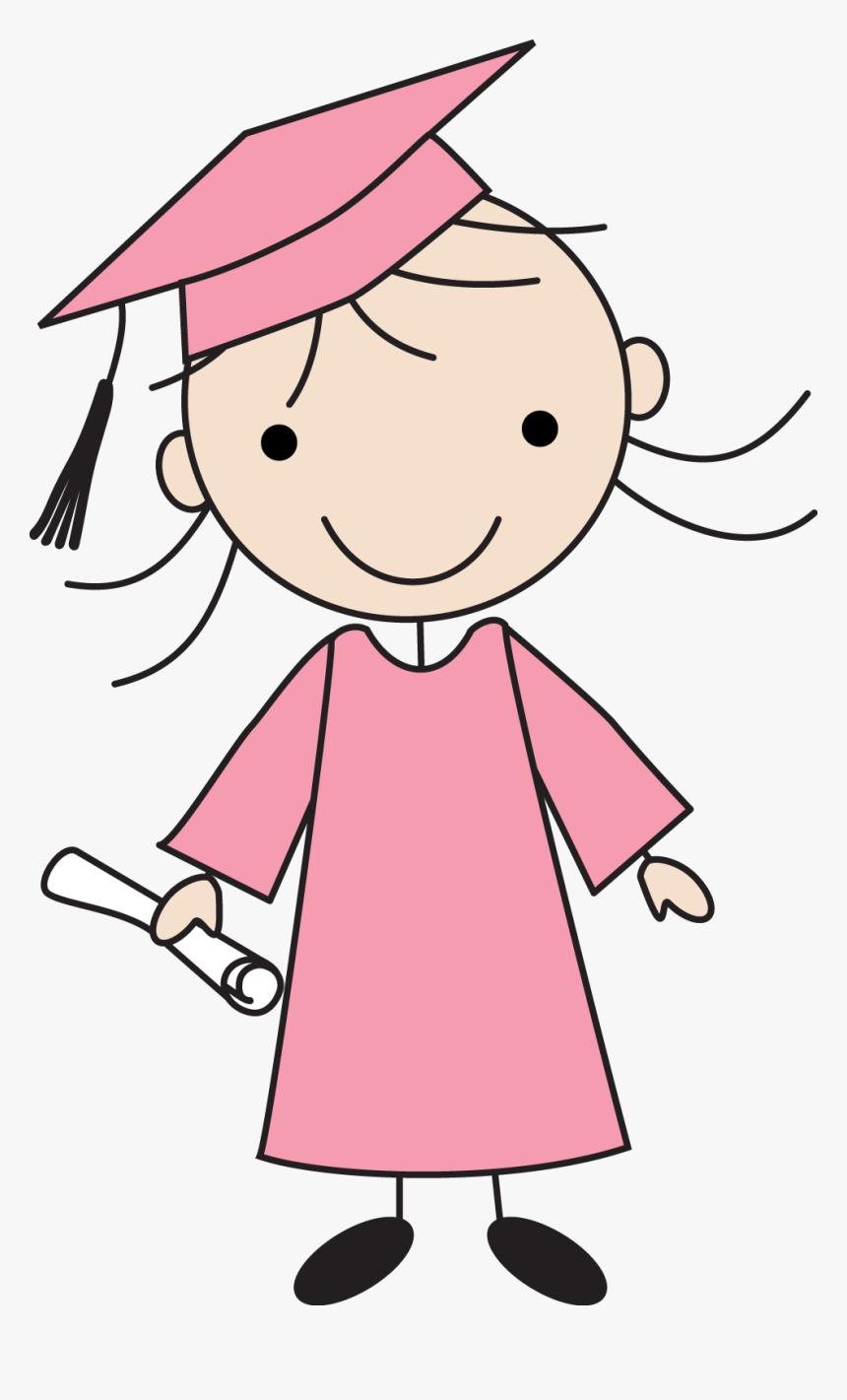 Kids Drawings Of Graduation, HD Png Download, Free Download