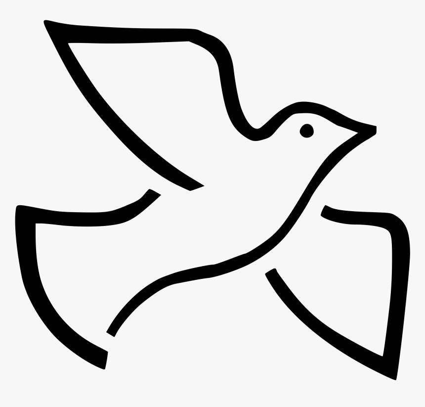 Vector Doves Wedding Dove - Holy Spirit Dove, HD Png Download, Free Download