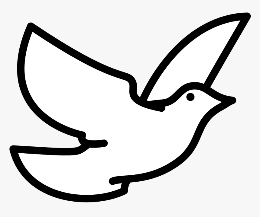 28 Collection Of Dove Bird Clipart - White Dove Clip Art, HD Png Download, Free Download