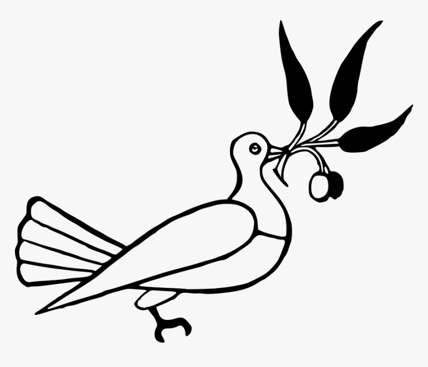 Wedding Doves Clipart 15, Buy Clip Art - Drawing With Elements Of Arts, HD Png Download, Free Download