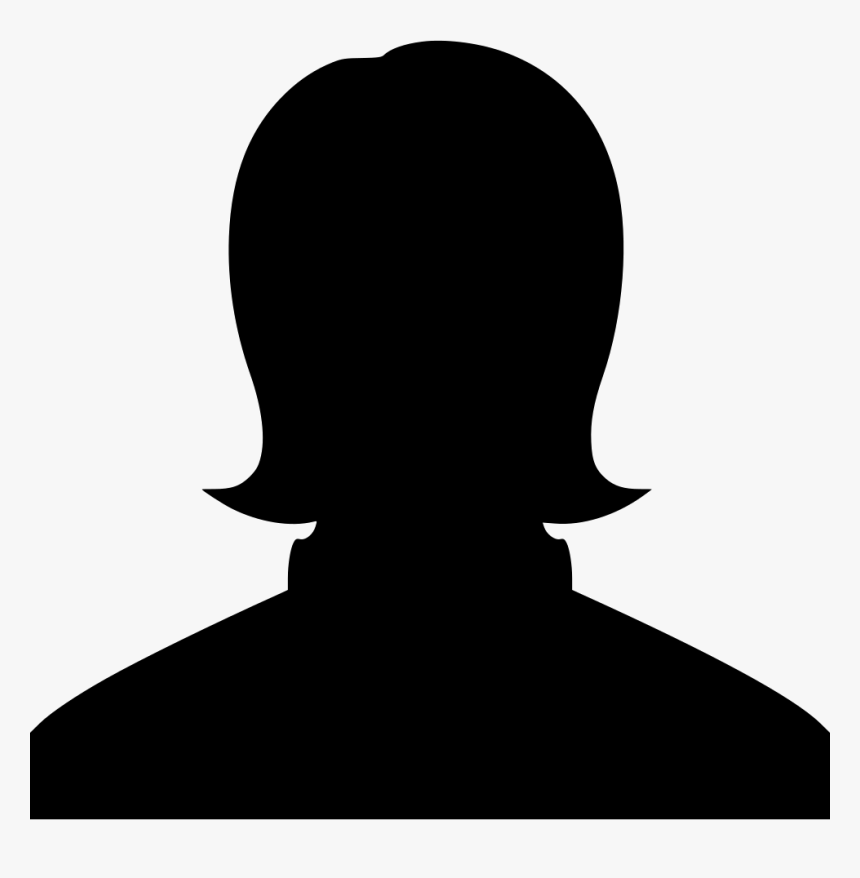 Woman Head People Avatar - Female Silhouette, HD Png Download, Free Download