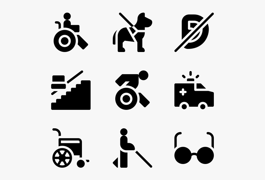 Disabled People Assistance - Icon Config, HD Png Download, Free Download