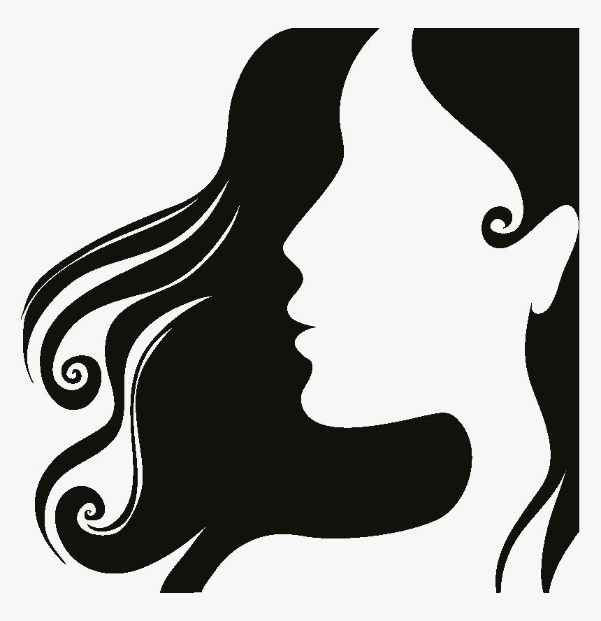 Woman Head Silhouette Png - Zeta Phi Beta Finer, Transparent Png, Free Download