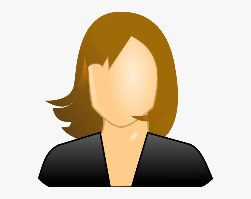Png Save Face Head Woman - Female User, Transparent Png, Free Download