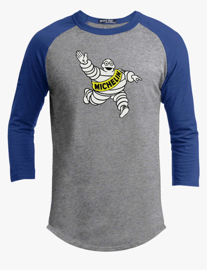 Michelin T Shirt Automotive Tires Michelin Man Racing - State Baseball T Shirts, HD Png Download, Free Download