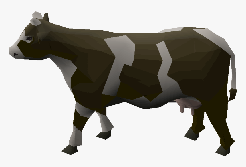 Old School Runescape Wiki - Runescape Cow, HD Png Download, Free Download