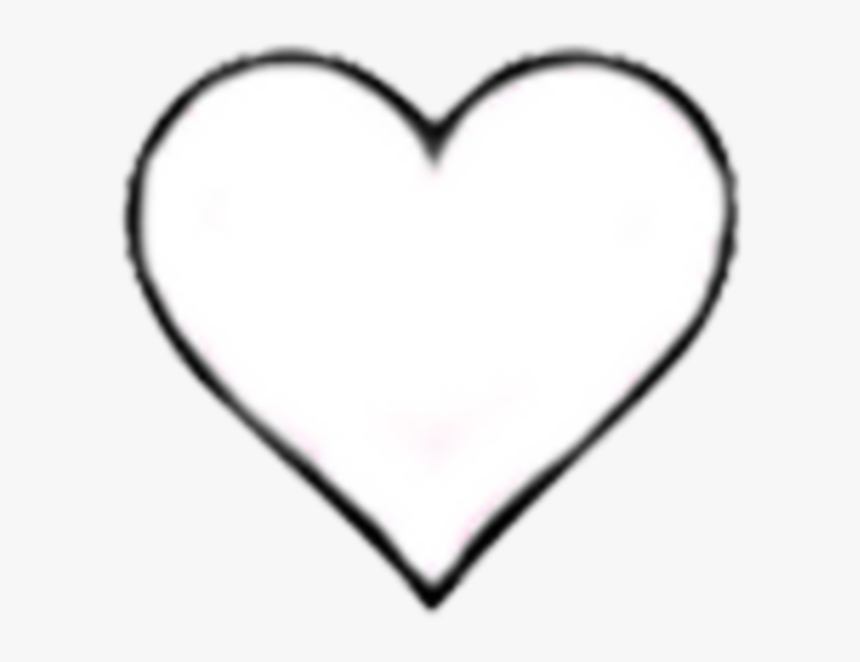 Heart Hearts Tumblr Blackandwhite Icon Png Black And - Like Instagram White Heart, Transparent Png, Free Download