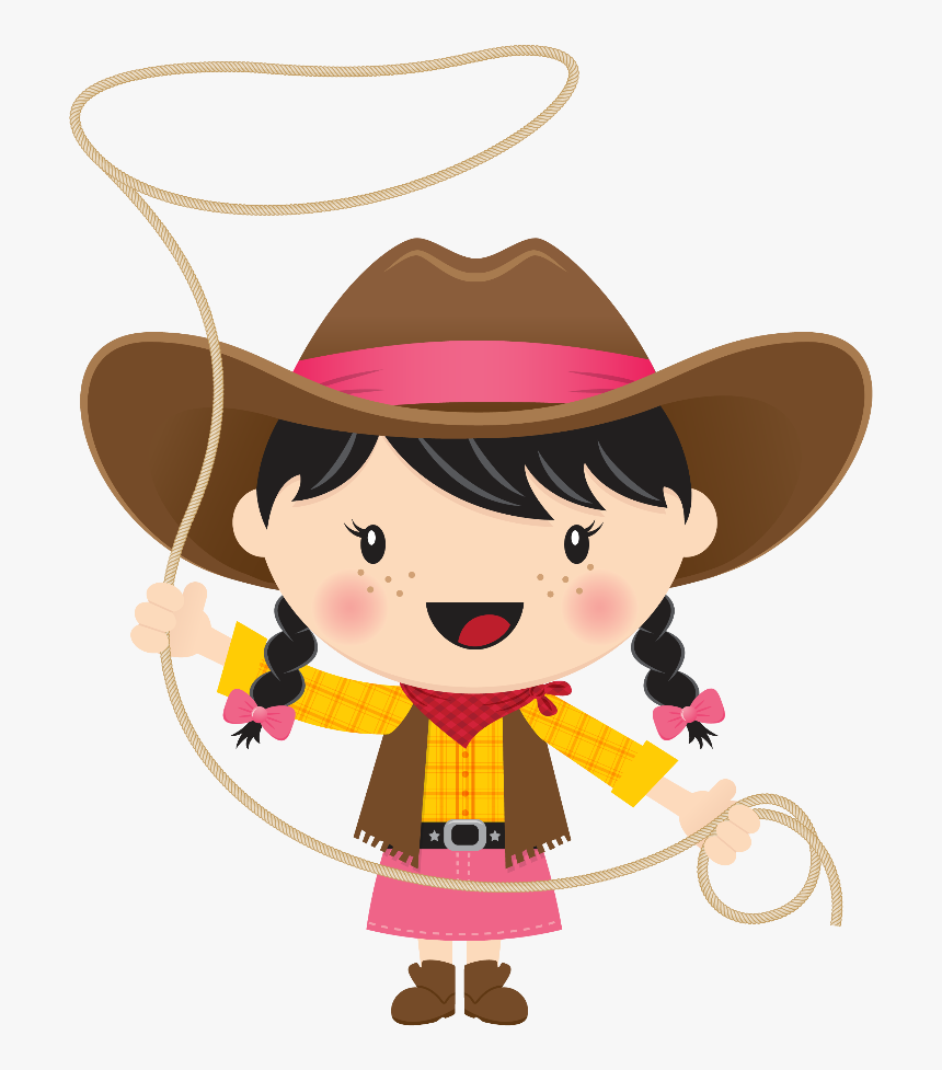 Cowboy And Cowgirl Clip Art, HD Png Download, Free Download