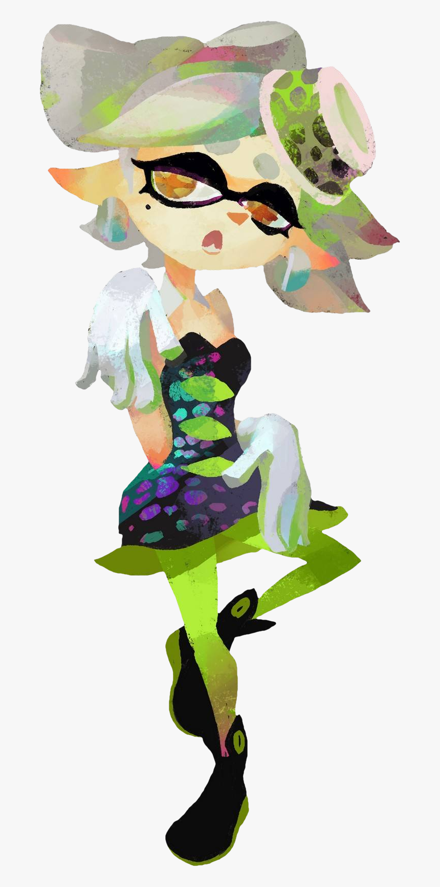 Shared By Squid Sisters Transparent - Squid Sisters, HD Png Download, Free Download