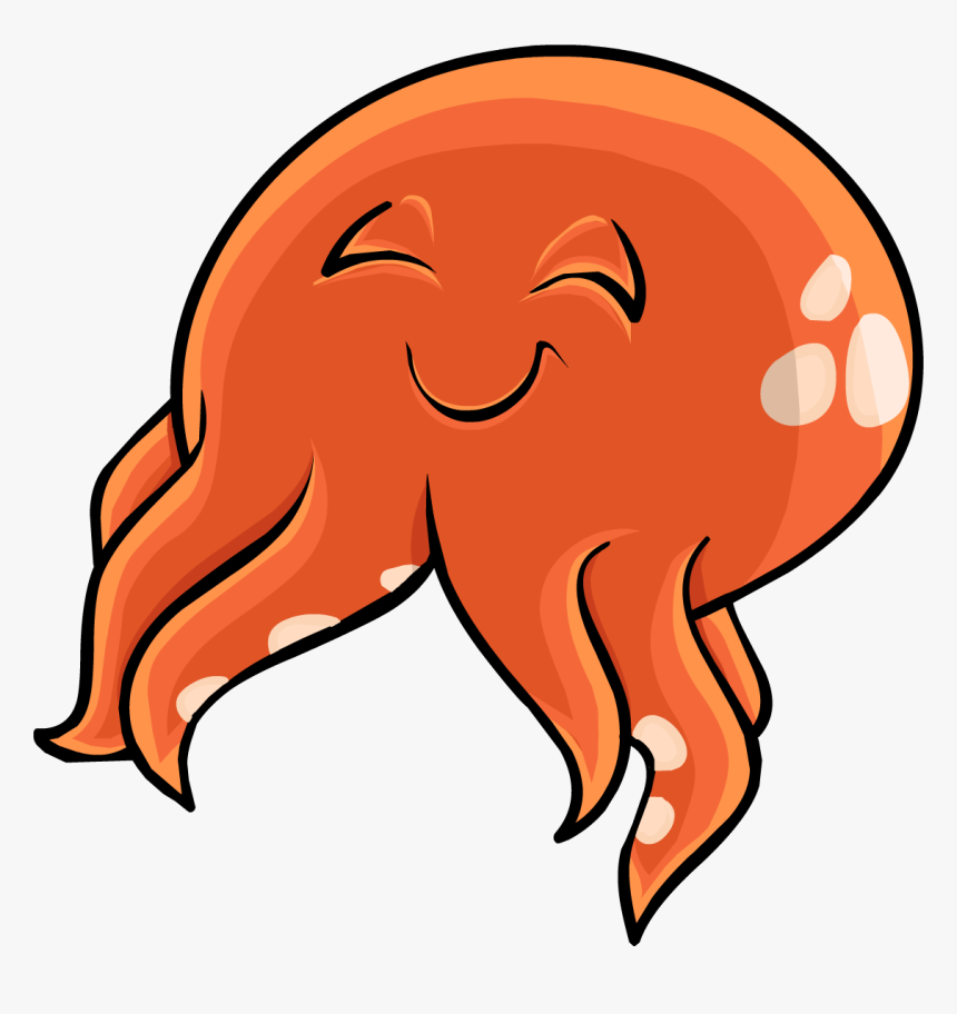 Club Penguin Squid Hat, HD Png Download, Free Download