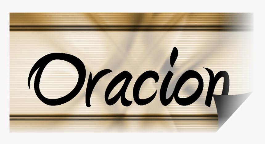 Palabra Oracion, HD Png Download - kindpng