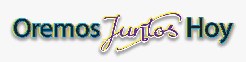 Oremos Juntos Hoy - Calligraphy, HD Png Download, Free Download