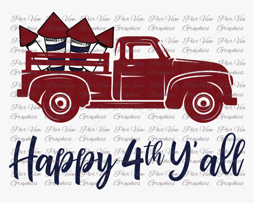 Transparent Vintage Truck Clipart Happy Birthday Svg Free Hd Png Download Kindpng
