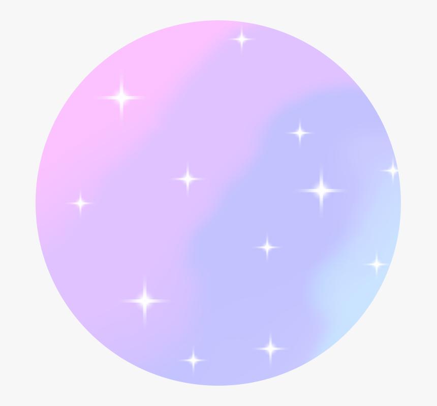 380 3806635  space galaxy kawaii pastel stars circle background