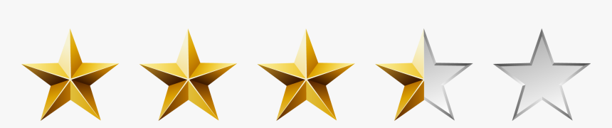 4 Out Of 5 Star Rating, HD Png Download, Free Download