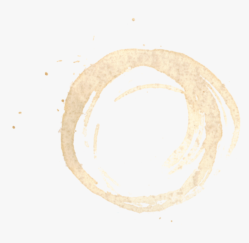 Coffe Stain Png - Black Coffee Stain Ring Transparent, Png Download, Free Download