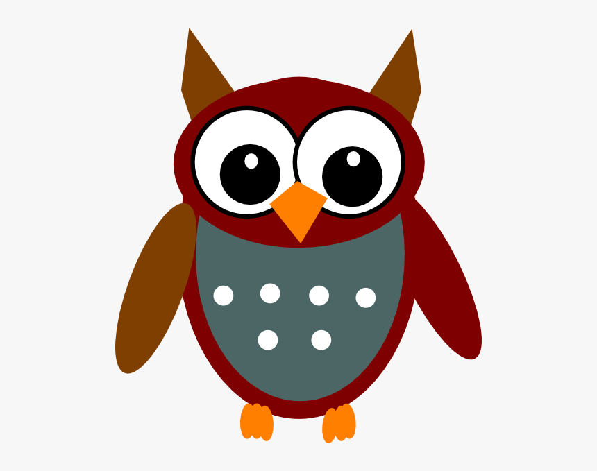 Owl Wearing Glasses Clipart, HD Png Download, Free Download