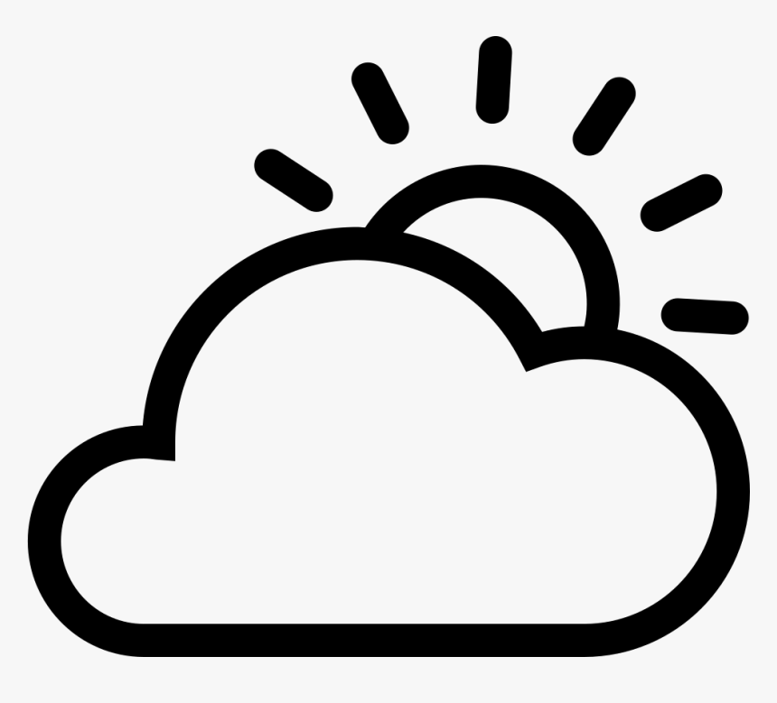cloud sun sun and cloud icon png transparent png kindpng cloud icon png transparent png