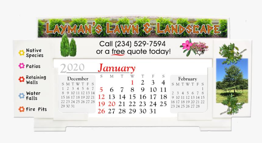 """Full Color Billboard Desk Calendar""""  Title=""""735fc - Floral Design, HD Png Download, Free Download"""