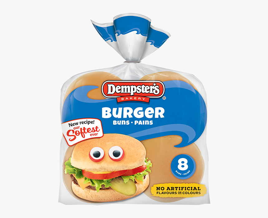 "Dempster""s® Original Hamburger Buns - Dempsters Buns, HD Png Download, Free Download"