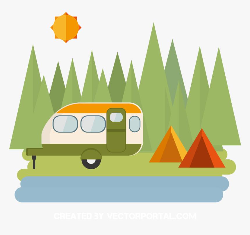 Camping Vector Camp Site Transparent Camping Clip Art Hd Png Download Kindpng