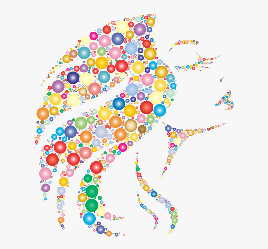 Elegant, Woman, Female, Girl, Circles, Dots, People - Woman Free Abstract Art, HD Png Download, Free Download