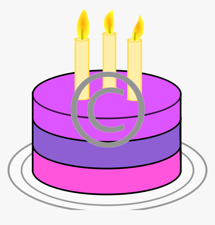 Birthday Cake Simple Art Hd Png Download Kindpng