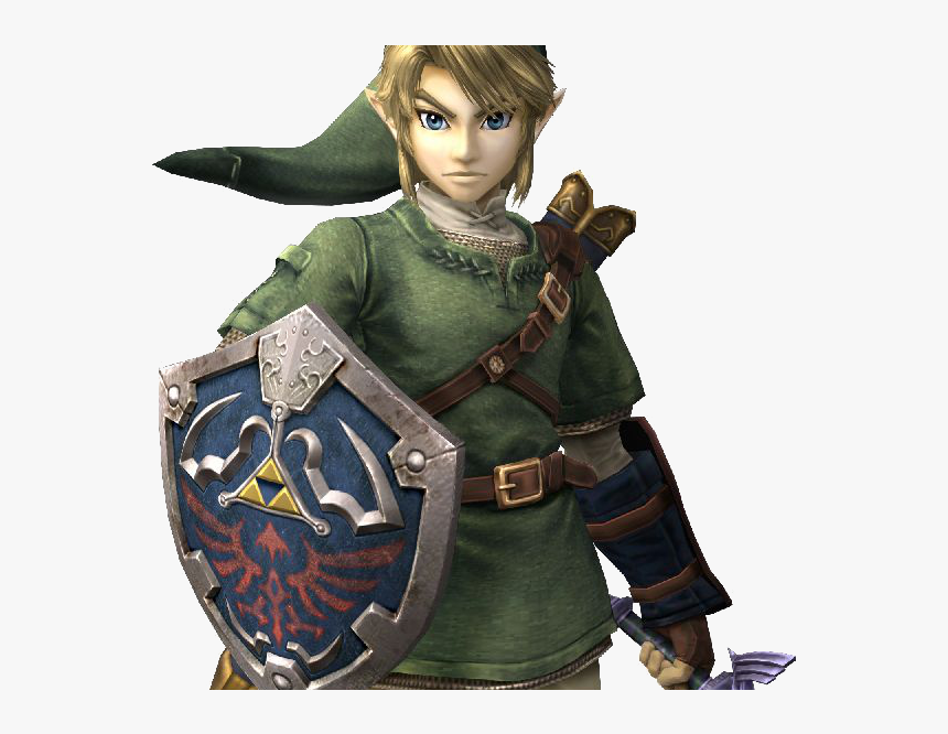 """a Legend Of Zelda - Link Twilight Princess Smash, HD Png Download, Free Download"