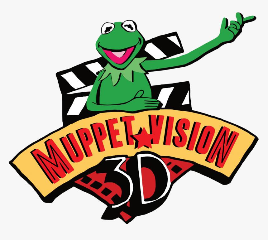 Muppet Vision 3d Logo Png, Transparent Png, Free Download