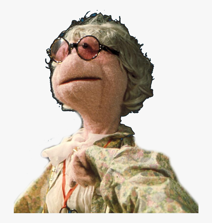 Wmw Hilda - Muppet Lady With Glasses, HD Png Download, Free Download