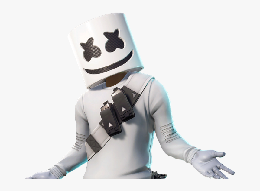 Marshmello Skin Fortnite Png , Png Download - Skin Marshmello Fortnite Png, Transparent Png, Free Download
