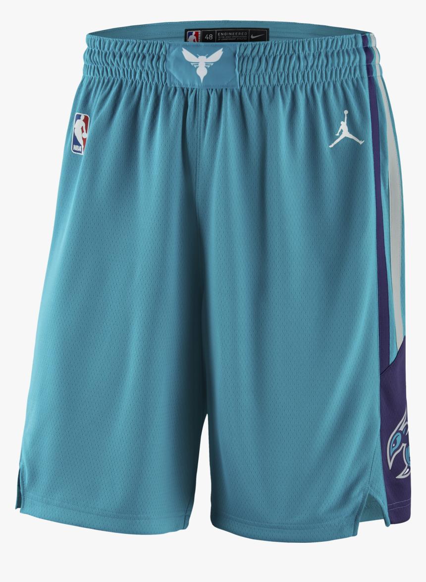 Air Jordan Nba Charlotte Hornets Swingman Road Shorts - Charlotte Hornets Shorts, HD Png Download, Free Download