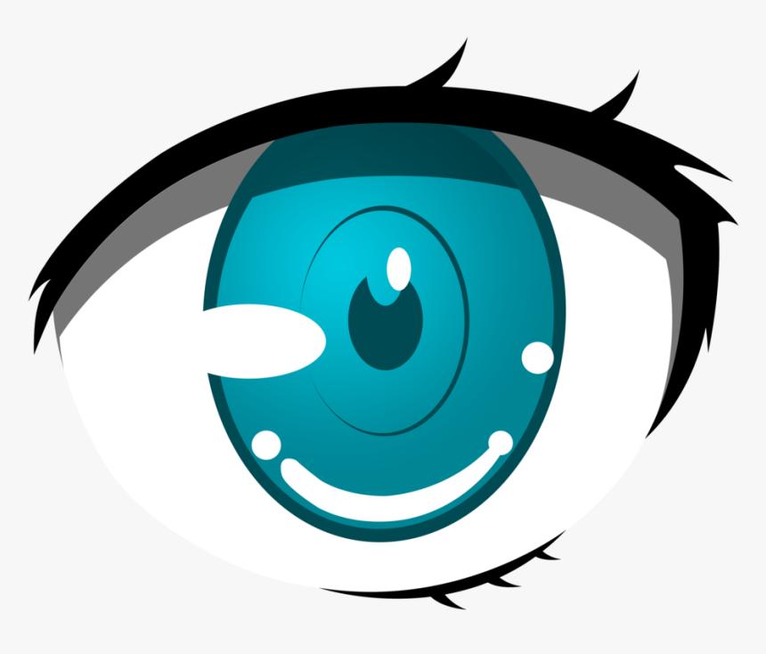 Anime Clipart Cartoon Eyes Png Animated Blue Cartoon Transparent