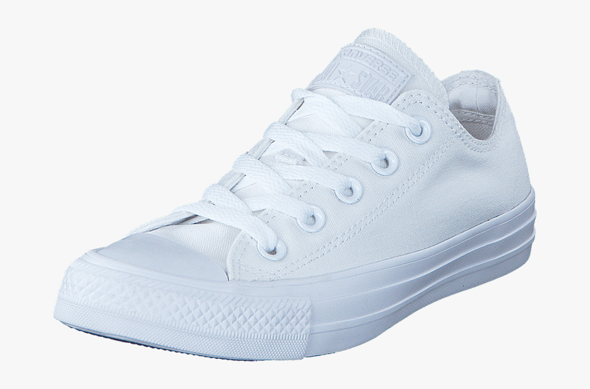 Transparent Chuck Taylor Png - Chuck Taylor All Star Ox White Mono, Png Download, Free Download