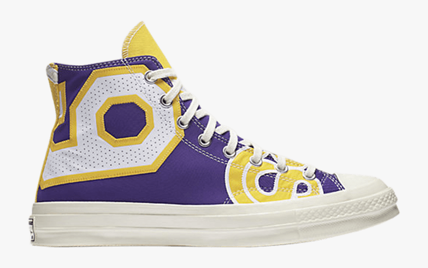 Converse Chuck Taylor All-star 70s Hi Gameday Los Angeles - Lakers Converse All Stars, HD Png Download, Free Download