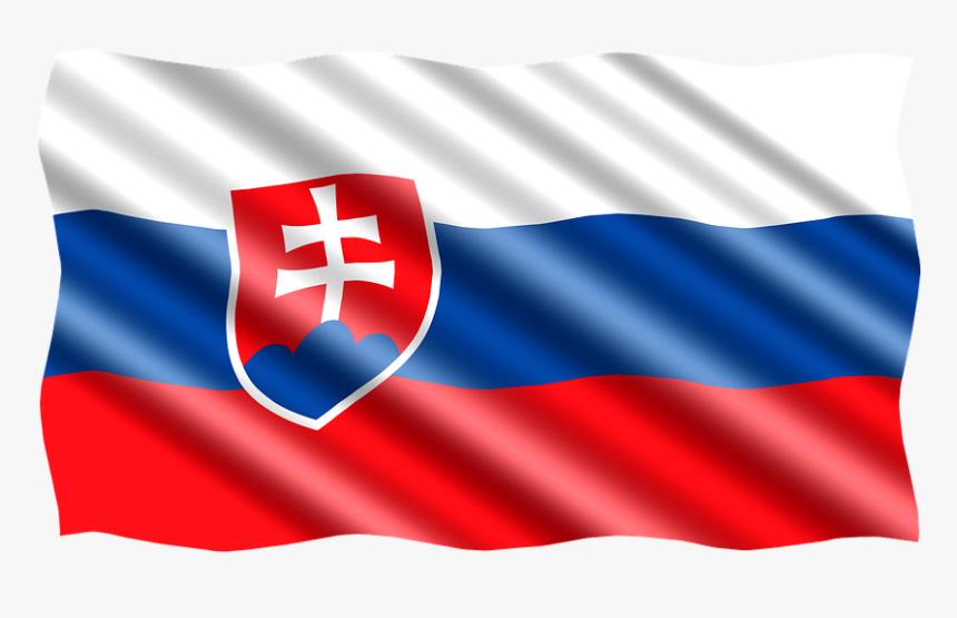 Slovakia Flag Png Transparent - Slovenská Vlajka Png, Png Download, Free Download