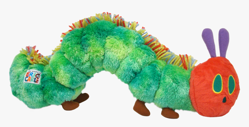 Transparent Hungry Caterpillar Png - Rupsje Nooitgenoeg Knuffel Groot, Png Download, Free Download