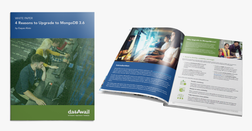 Why You Should Upgrade To Mongodb - Brochure, HD Png Download, Free Download