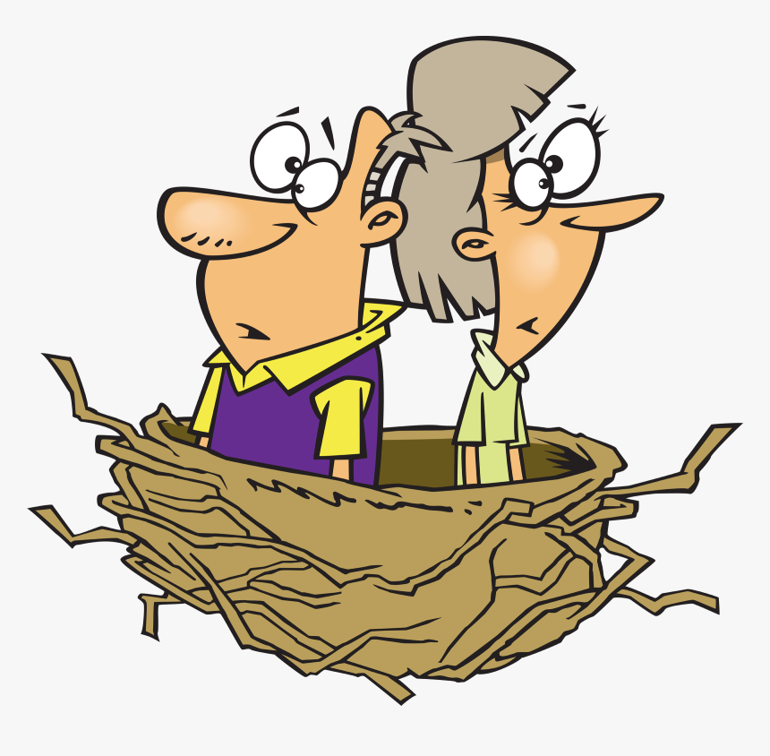 Middle Age Empty Nest, HD Png Download, Free Download